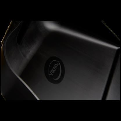 Совок с длинной ручкой, 330 мм, черный цвет