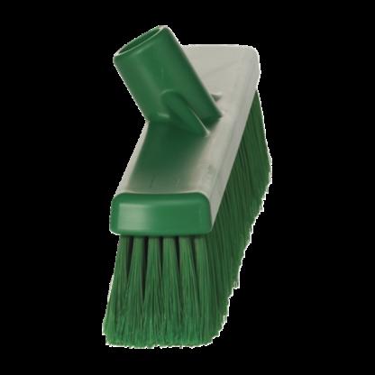 Щетка для подметания, 410 мм, Мягкий/ расщепленный, зеленый цвет