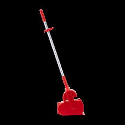"""Набор """"Щетка с совком"""", 370 мм, красный цвет"""