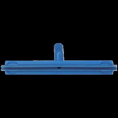 Гигиеничный сгон с подвижным креплением и сменной кассетой, 405 мм, синий цвет