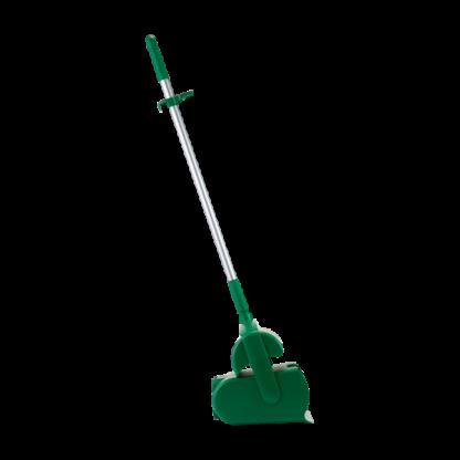 """Набор """"Щетка с совком"""", 370 мм, зеленый цвет"""