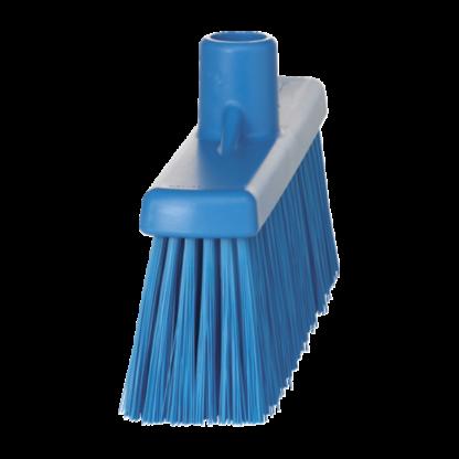 Щетка  для подметания с прямой соединительной частью, 310 мм, средний ворс, синий цвет