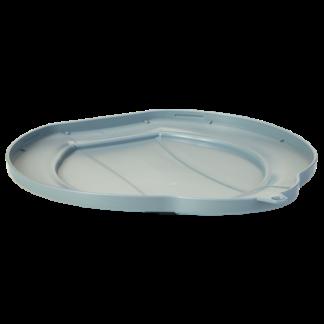 Крышка для ведра, 12 л, серый цвет