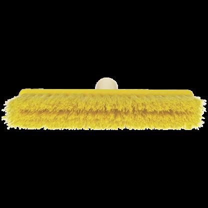 Щетка для подметания мягкая, 260 мм, Мягкий/жесткий, желтый цвет