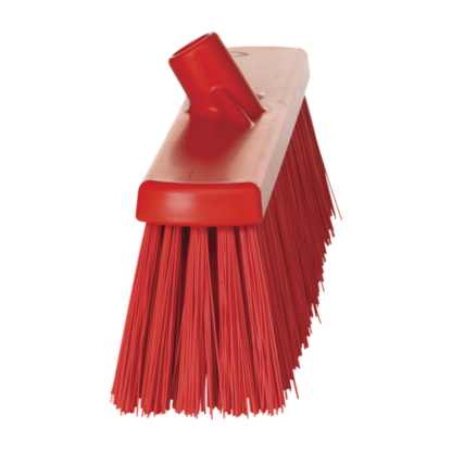 Щетка для подметания сверхпрочная, 530 мм, Очень жесткий, красный цвет