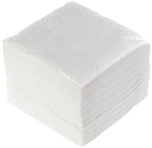 Салфетки бумажные 24×24 см белые 1-слойные 100 штук в упаковке. Купить товар в Воронеже недорого, КОРРАД