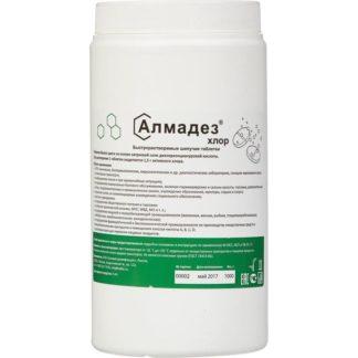 Алмадез-хлор, средство дезинфицирующее, хлорные таблетки 1,0 кг купить в Воронеже по низкой цене, КОРРАД