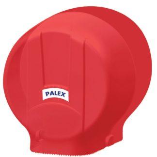 Диспенсер Palex для туалетной бумаги JUMBO-STANDART красный 3448-B