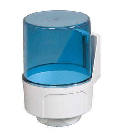 Диспенсер Palex для бумажных полотенец с центральной вытяжкой синий 3458-1