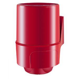 Диспенсер Palex для бумажных полотенец с центральной вытяжкой  красный 3458-B