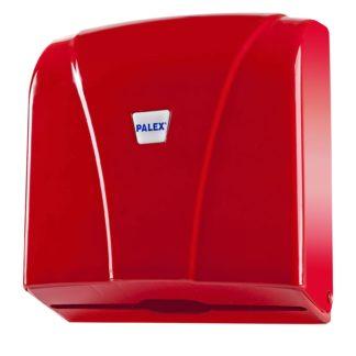 Диспенсер для бумажных полотенец Palex Z-сложения, красный 3464-B