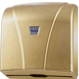 Диспенсер для бумажных полотенец Palex Z-сложения ,золотой 3464-G