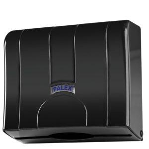 Диспенсер для бумажных полотенец черный Palex Z-сложения, 3570-S