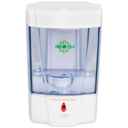 Дозатор для жидкого мыла сенсорный белый 0.7 л