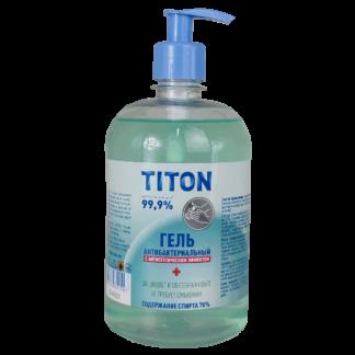 Гель антибактериальный с антисептическим эффектом TITON 750 мл