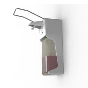 Локтевой дозатор HÖR-D-004A пластик белый