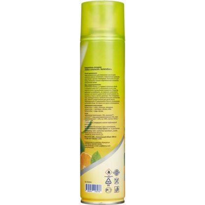 Освежитель воздуха Лайм и апельсин антитабак 300 мл (сухое распыление)