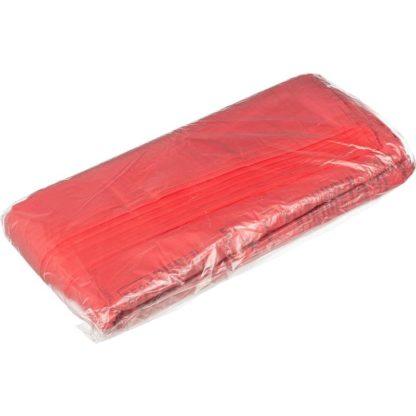 Пакет для медицинских отходов класс В 60 л красные 70х80 см 18 мкм 100 шт/упак