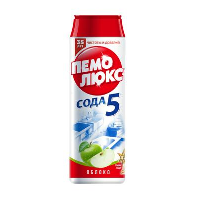 Универсальное чистящее средство Пемолюкс Сода 5 Яблоко порошок 480 г