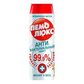 Универсальное чистящее средство Пемолюкс Экстра с антибактериальным эффектом порошок 480 г