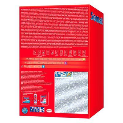 Таблетки для посудомоечных машин Giga Somat Classic (120 штук в упаковке)