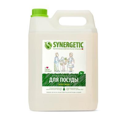 Средство для мытья посуды Synergetic Алоэ концентрат 5 л