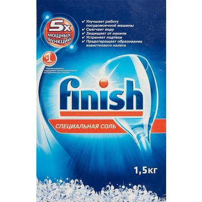 Соль для посудомоечных машин Finish 1,5 кг
