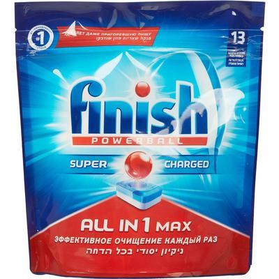 Таблетки для посудомоечных машин Finish Powerball All in 1 Max (13 штук в упаковке)