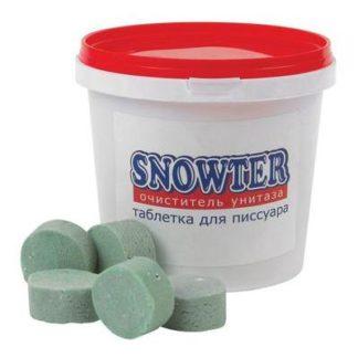 Таблетки для писсуаров Snowter 34 штуки по 29 г в упаковке (отдушки в ассортименте)