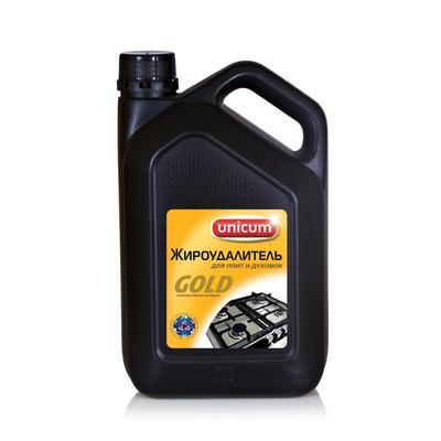 Средство для чистки плит Unicum Gold Жироудалитель 3 л