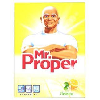 Универсальное чистящее средство Mr. Proper Лимон порошок 400 г