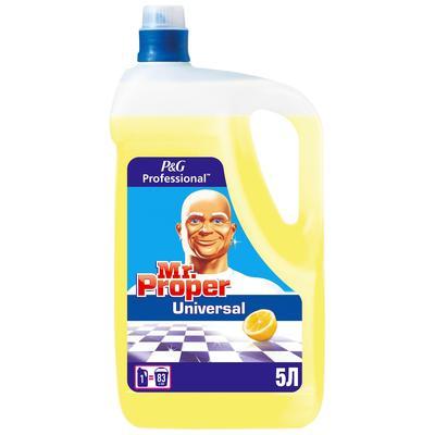 Универсальное чистящее средство Mr. Proper Лимон жидкость 5 л