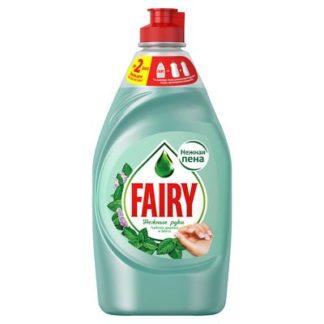Средство для мытья посуды Fairy Нежные руки Чайное дерево и мята 450 мл