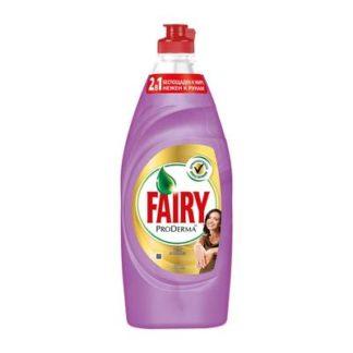 Средство для мытья посуды Fairy ProDerma Шелк и орхидея 650 мл