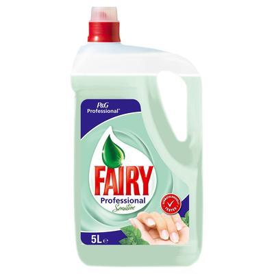 Средство для мытья посуды Fairy Professional Sensitive Чайное дерево 5 л