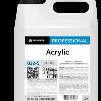 Acrylic грунтовка-герметик, дисперсия с сухим остатком 18% 5л