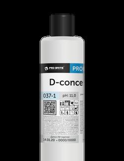 D-concentrate универсальный низкопенный моющий концентрат 1л