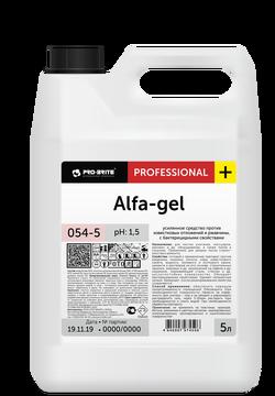 Alfa-gel усиленное средство против известковых отложений и ржавчины, с бактерицидными свойствами 5л