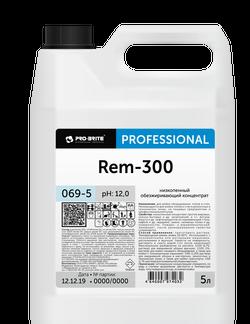 Rem-300 низкопенный обезжиривающий концентрат 5л