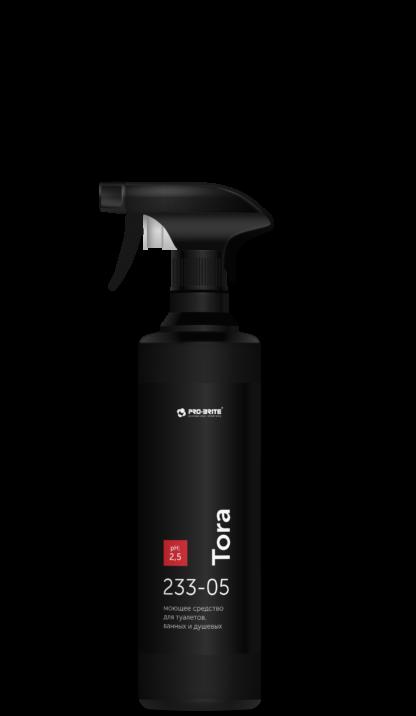 Tora моющее средство для туалетов, ванных и душевых, готовый к применению препарат 0,5л