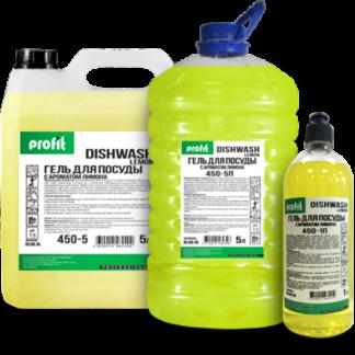 PROFIT DISHWASH lemon Средство для мытья посуды 5л ПЭТ