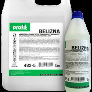 PROFIT BELIZNA моющий отбеливающий концентрат с дезинфицирующим эффектом на основе хлора 5л