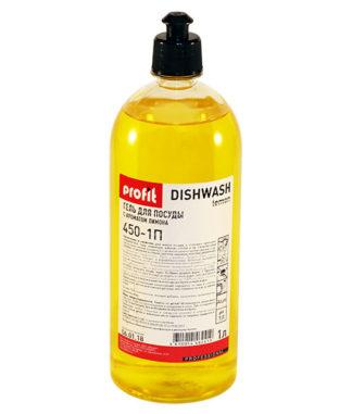 PROFIT DISHWASH lemon Средство для мытья посуды 1л ПЭТ