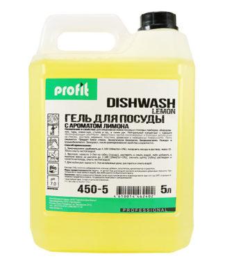 PROFIT DISHWASH lemon Средство для мытья посуды 5л