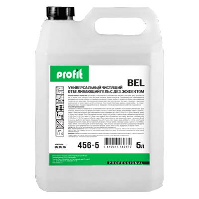 PROFIT BEL Дезинфицирующий чистящий гель с отбеливающим эффектом 5л