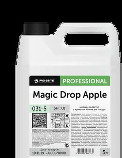 MAGIC DROP Apple Средство с ароматом яблока для мойки посуды 5л