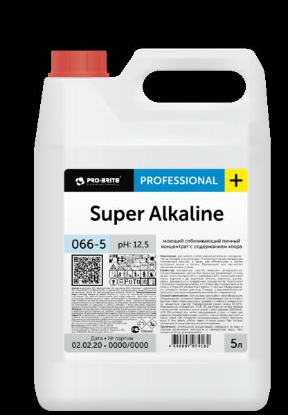 SUPER ALKALINE Моющее отбеливающее средство от последствий пожара 5л