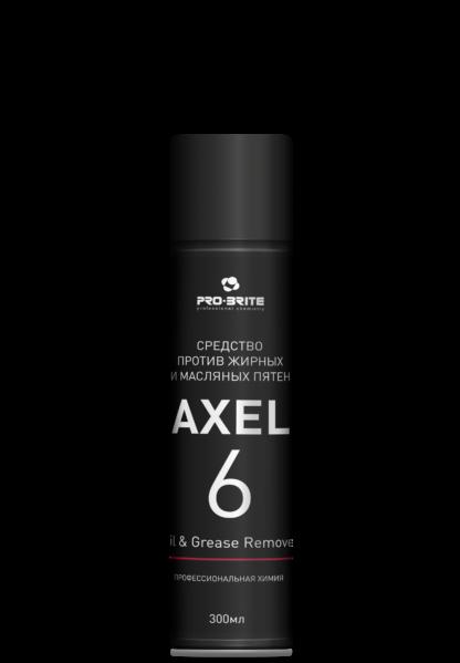 AXEL-6 Oil & Grease Remover Средство против жирных и масляных пятен 300мл