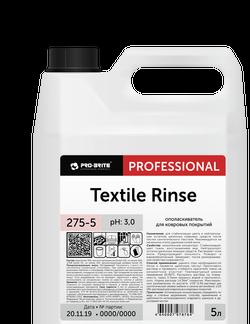 TEXTILE RINSE Ополаскиватель для ковровых покрытий 5л