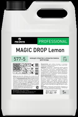 MAGIC DROP Lemon Средство с ароматом лимона для мойки посуды 5л